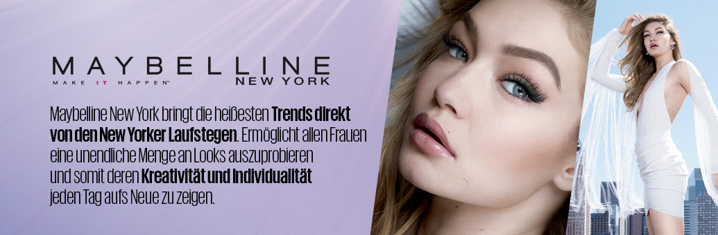 Maybelline header Gigi