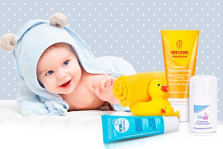 Die besten Cremes für Babys hat unsere Moni getestet