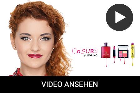 Goldnes Make-up für Rothaarige: Make-up Tutorial