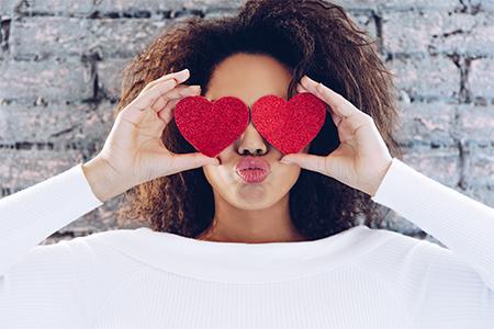 Vorbereitungen zum Valentinstag Schritt für Schritt