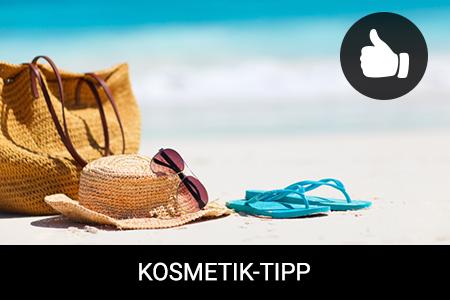 4 unverzichtbare Kosmetikprodukte für Ihre Strandtasche