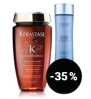 bis -35 % auf Haarpflege