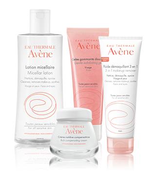 Basispflege für die empfindliche Haut Avène
