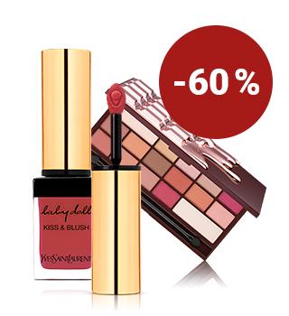 Bis -60 % auf Make-up