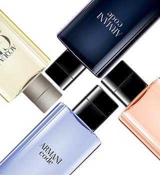 Armani parfümierte Kosmetikartikel